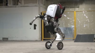 Boston Dynamics Terrifying and Astounding Handle Robot