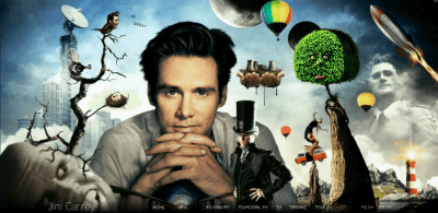 A Beautiful Mind: RIP Jim Carrey's Website